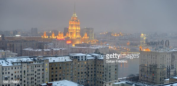 The Radisson Royal Hotel in Moscow