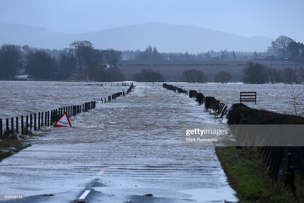 Blairgowrie United Kingdom  City pictures : B945 in Perthshire on January 4, 2016 near Blairgowrie, United Kingdom ...