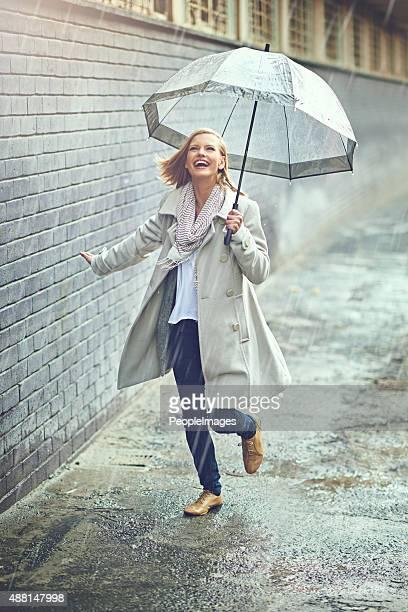 La pioggia non abbia sua comunque