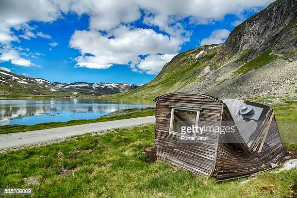 The Rallarvegen mountain scenery, Norway