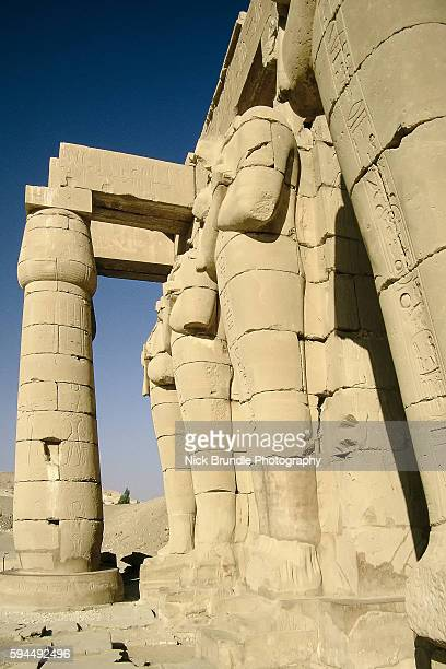 The Ramesseum, Luxor, Egypt