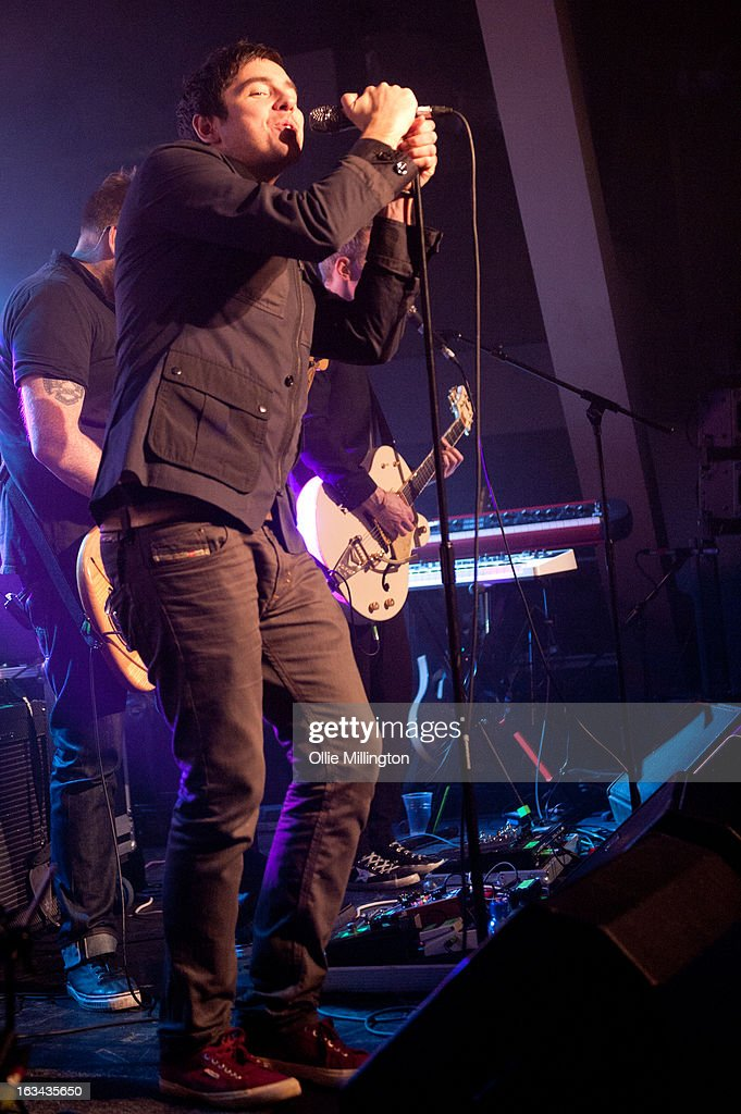 The Ramona Flowers perform at The Institute on March 9, 2013 in Birmingham, England.