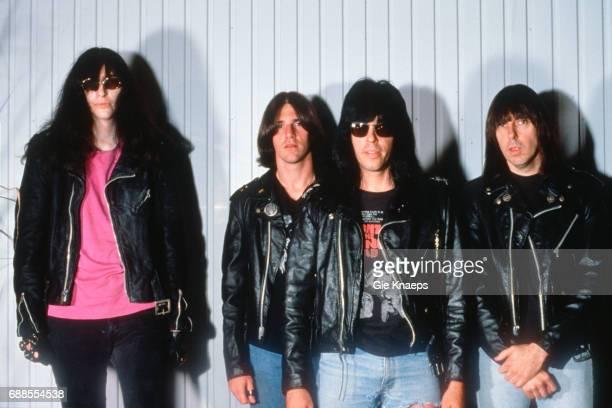 The Ramones Joey Ramone CJ Ramone Marky Ramone Johnny Ramone Pukkelpop Festival Hasselt Belgium