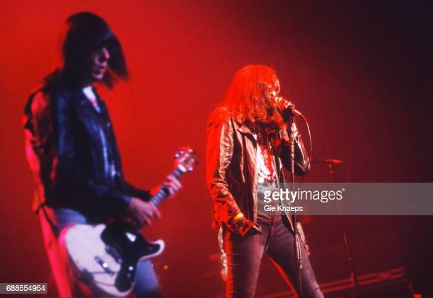 The Ramones Joey Ramone Johnny Ramone Luna Theater Brussels Belgium