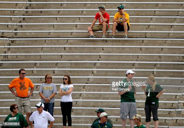 The Ram's low attendance Saturday could be a result of flood damage in the area The Colorado State University football team defeated Cal Poly at...