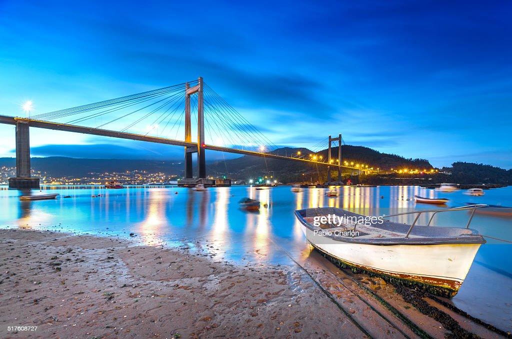 The Rande Bridge : Stock Photo