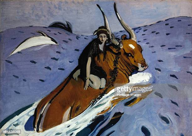 The Rape of Europa 1910 Found in the collection of the State Tretyakov Gallery Moscow
