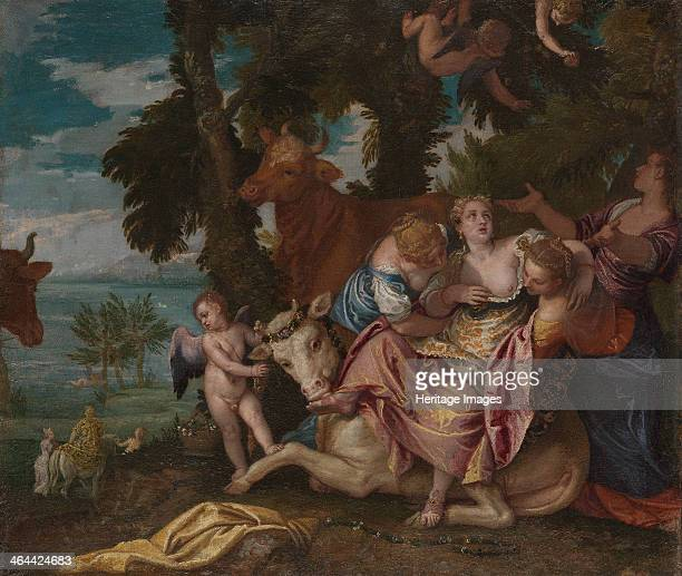 The Rape of Europa c 1570 Found in the collection of the National Gallery London