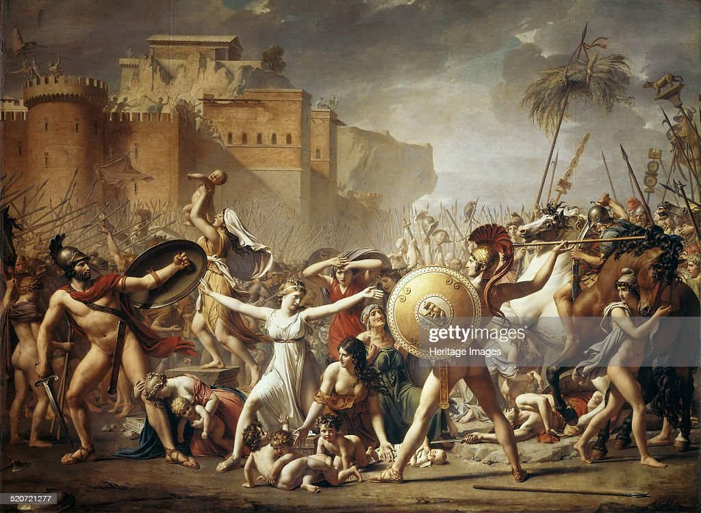 The Sabine Women - Jacques-Louis David