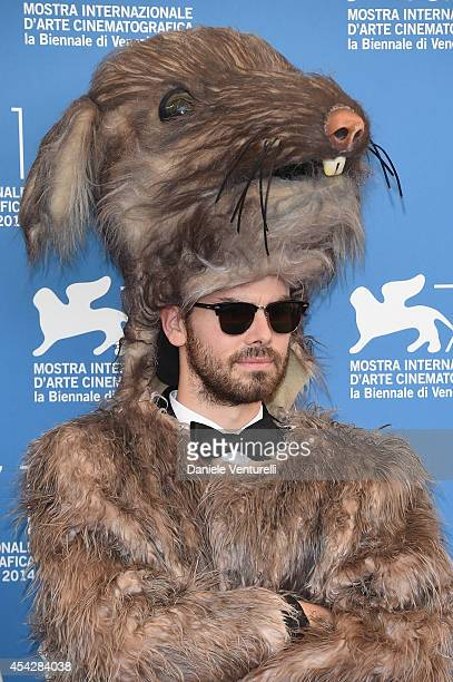 The Rat attends 'Reality' Photocall during the 71st Venice Film Festival on August 28 2014 in Venice Italy