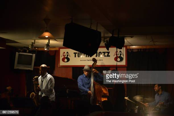 The RB Jazz Quintet Kenny Rittenhouse and Herman Burney performs at Twins Jazz a live jazz club which opened in Washington DC 30 years ago and kept...