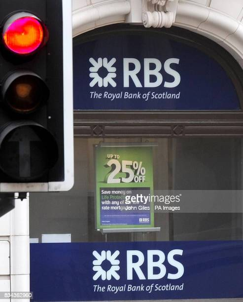 The RBS Bank premises in Leeds