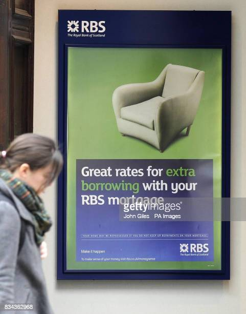 The RBS Bank premises in Leeds today