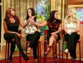 'The Real House Wives of Atlanta' NeNe Leakes Sheree Whitfield Lisa Wu Hartwell and Kim Zolciak visit 'The Morning Show with Mike and Juliet' at FOX...