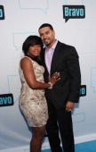 The Real Housewives of Atlanta's Phaedra Parks and husband Apollo Nida attend the 2011 Bravo Upfront at Girl the Goat on March 30 2011 in Chicago...