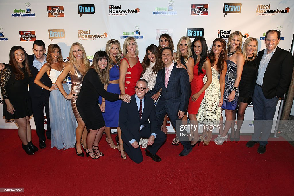 COUNTY 'The Real Housewives of Orange County' Season 11 Premiere Party in Los Angeles on June 16 2016 Pictured Stephanie Boyriven Executive Producer...