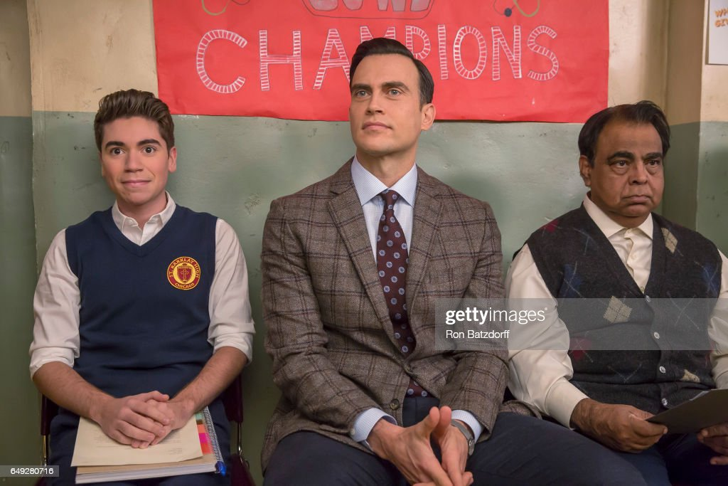 NEALS - 'The Real Mr. Nice Guy' - When Kenny convinces VP Murray to hire a gay teacher (guest star Cheyenne Jackson), Kenny's loyalties are tested when the teacher starts to make Jimmy's life miserable. Meanwhile, when Pat's courteous nature robs him of a winning lottery ticket, he decides to stop being such a nice guy with Shannon's help, which doesn't bode well for Eileen, who needs Pat's help hosting a dinner for the Bishop, on ABC's 'The Real O'Neals,' airing on TUESDAY, March 7 (9:30-10:00 p.m. EST). NOAH