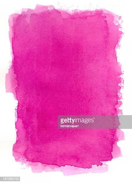 El verdadero rosa bastidor