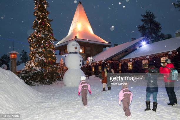 The 'real' Santa Claus is available to visit every day of the year at the Santa Claus Village in Lapland It is also the location of the main Santa...