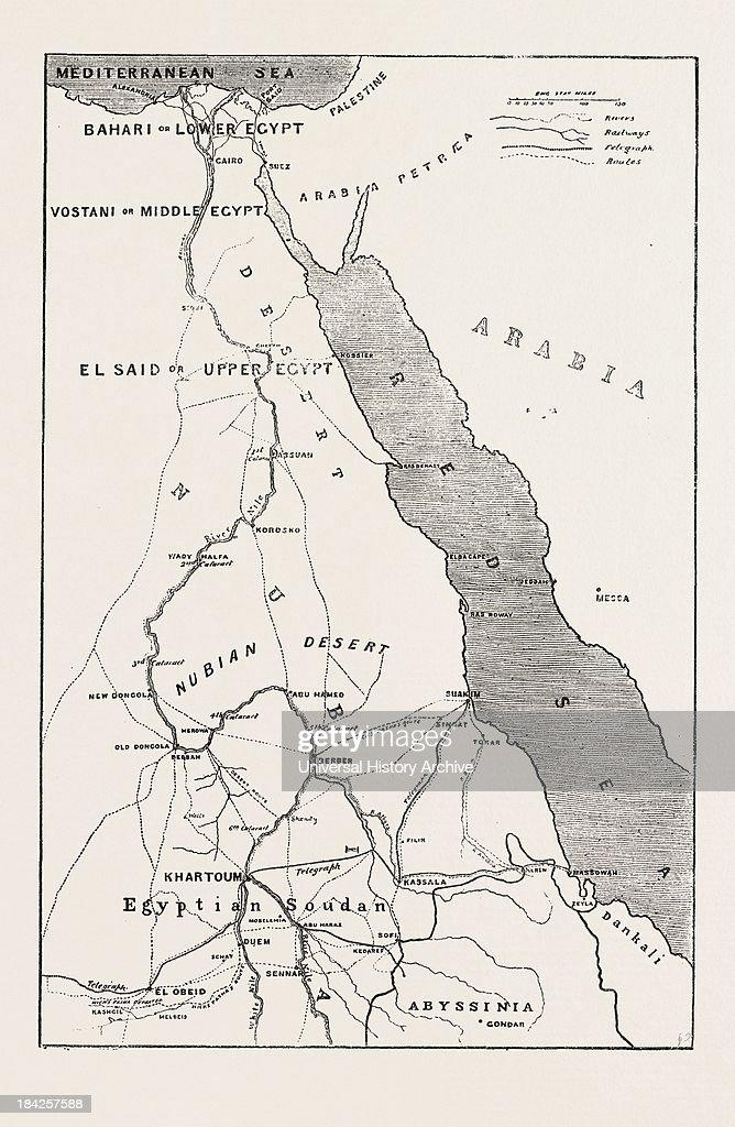 Mediagettyimagescomphotostherebellioninthe - Map of upper egypt