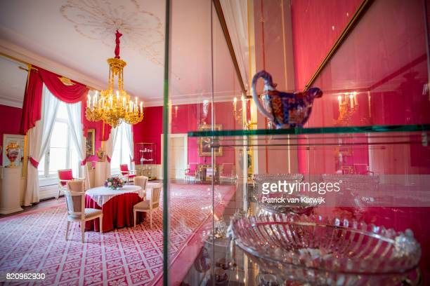 The receiving room in Palace Noordeinde on July 22 2017 in The Hague Netherlands Palace Noordeinde is the office of King WillemAlexander and Queen...