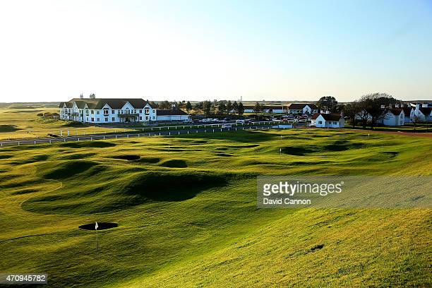 The recently redesigned par 3 pitch and putt course designed by Martin Ebert of Ebert Mackenzie Golf Course design below the hotel in the late...