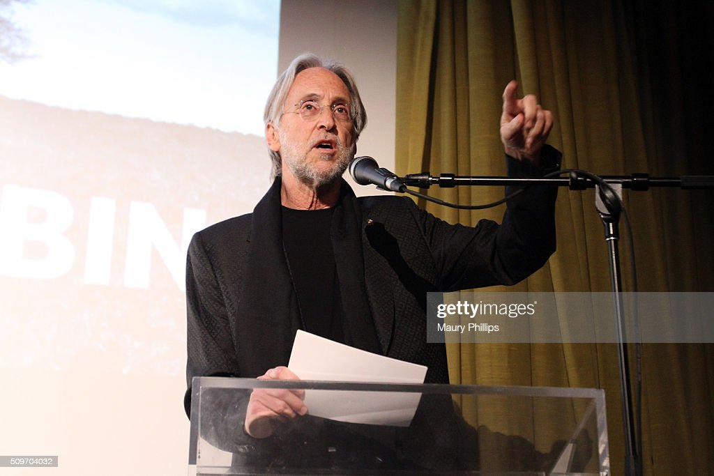 The Recording Academy CEO and President Neil Portnow speaks onstage during the PE Wing Event honoring Rick Rubin at The Villiage Studios on February...