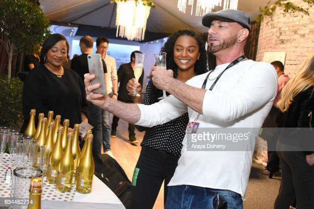 The Recording Academy Chief Human Resources Officer Gaetano Frizzi attends GRAMMY Gift Lounge during the 59th GRAMMY Awards at STAPLES Center on...