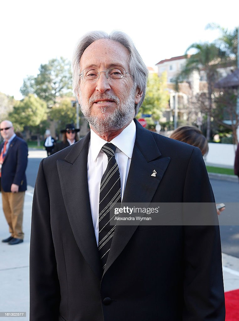 The Recording Academy president/CEO <a gi-track='captionPersonalityLinkClicked' href=/galleries/search?phrase=Neil+Portnow&family=editorial&specificpeople=208909 ng-click='$event.stopPropagation()'>Neil Portnow</a> at The 55th Annual GRAMMY Awards - Special Merit Awards Ceremony And Nominee Reception held on on February 9, 2013 in Los Angeles, California.