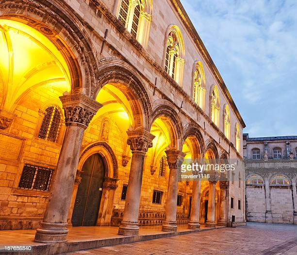 The Rector's Palace In Dubrovnik, Croatia