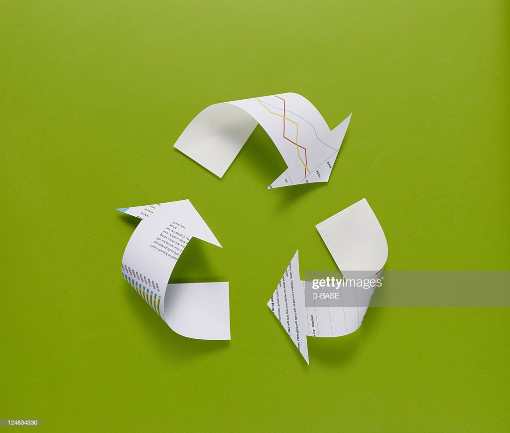Who invented paper recycling