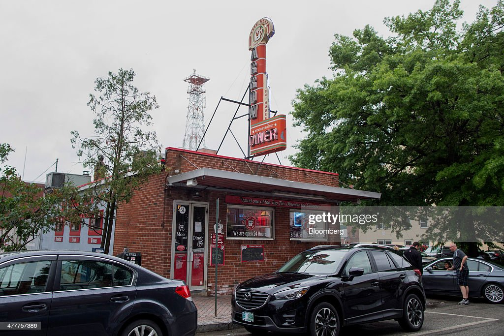 The Red Arrow Diner restaurant stands in Manchester New Hampshire US on Monday June 15 2015 Coowner Carol Lawrence operates three thriving Red Arrow...