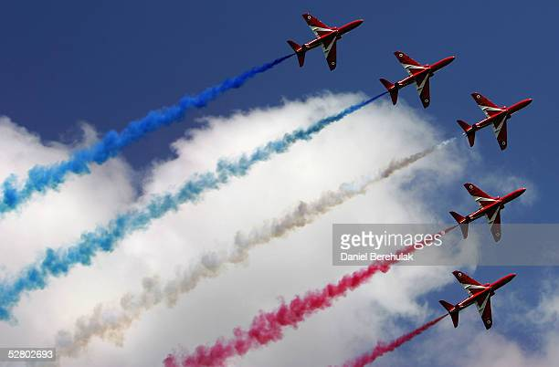 The Red Arrows Mark Their 40th Anniversary
