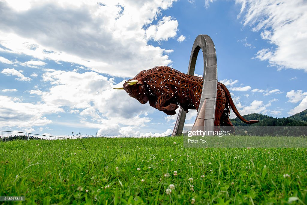 The Red Bull Ring where Scuderia Toro Rosso will be competing during previews ahead of the Formula One Grand Prix of Austria at Red Bull Ring on June 30, 2016 in Spielberg, Austria.