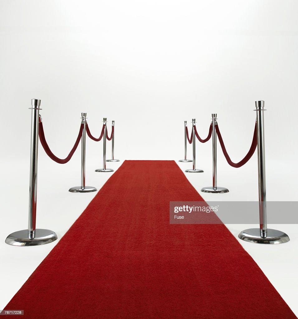 The Red Carpet : Stock Photo