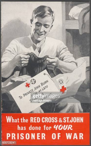 The Red Cross wartime advertisement 1940s