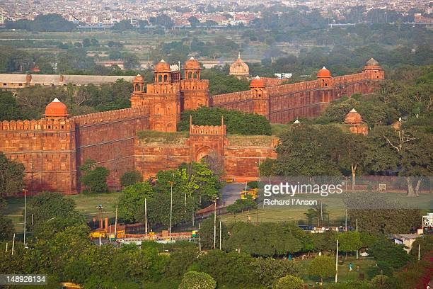 The Red Fort, or Lal Qila, in Old Delhi.