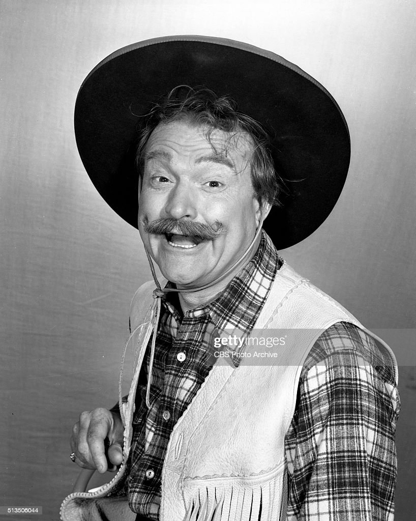 The Red Skelton Show Portraits of Red Skeltons characters. This character is 'Sheriff Deadeye.' Image dated May 17, 1954. New York, NY.