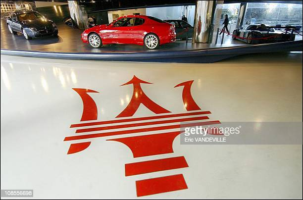 The red trident in the center of the oval logo was designed by Mario Maserati A painter and sculptor he is said to have drawn his inspiration from a...