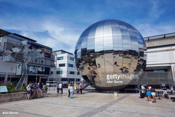 The redeveloped Millennium Square in Bristol