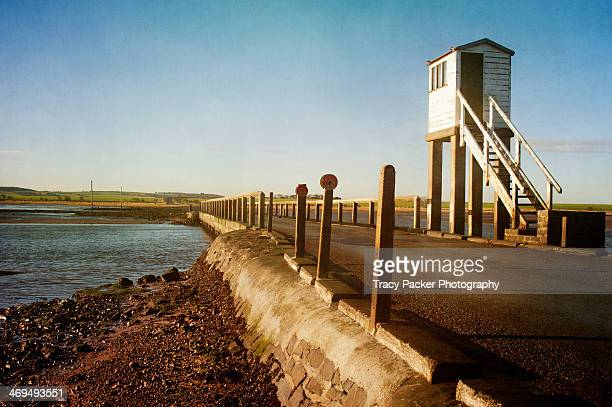 The refuge on Lindisfarne causeway