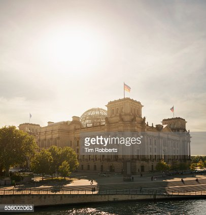 The Reichstag building, Parliament, Berlin