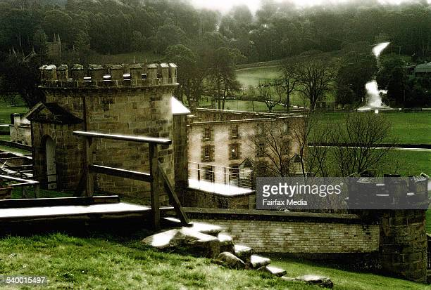 The remains of the penal settlement at the Port Arthur historic site Tasmania 28 August 2001 AFR Picture by MICHEL BUNN