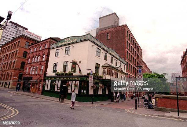 The Rembrandt pub in Canal Street Manchester a famous gay district of the city