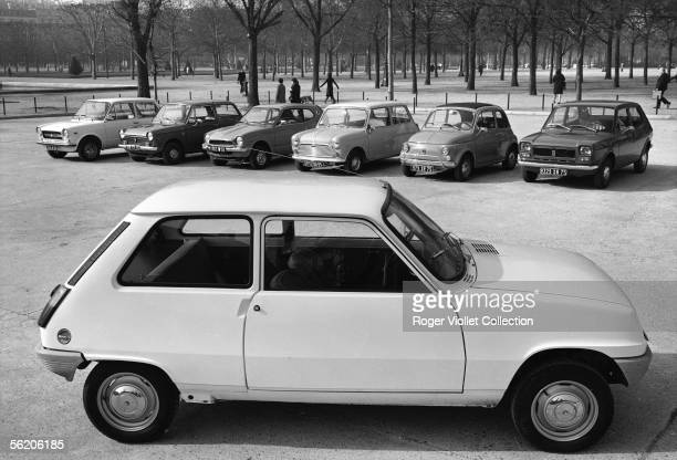 The Renault 5 in front of its rivals Paris 1972