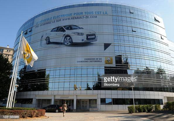 The Renault SA headquarters stand in BoulogneBillancourt near Paris France on Friday July 30 2010 Renault SA France's secondlargest carmaker posted a...