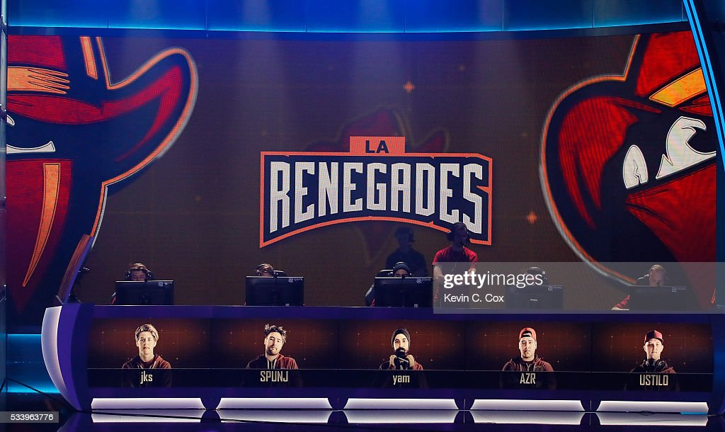 The Renegades compete against Luminosity in the state-of-the-art arena during Day One of ELEAGUE Group Stage A at Turner Studios on May 24, 2016 in Atlanta, Georgia.
