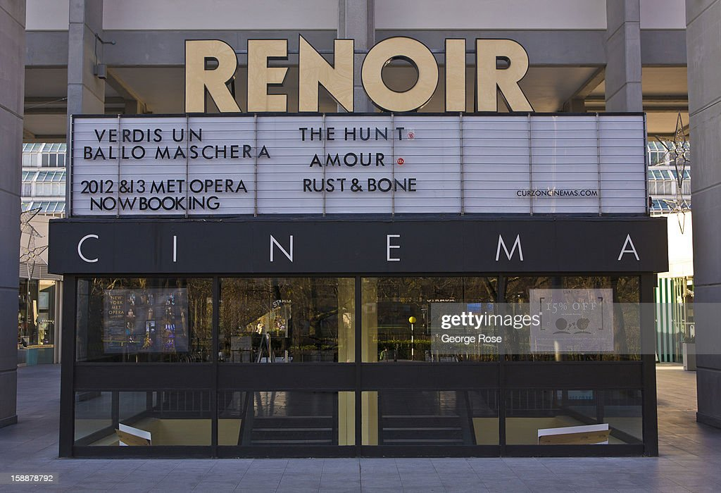 The Renoir Cinema in the Bourough Holborn is viewed on December 7, 2012, in London, England. Central London captures the Christmas holiday spirit, with shops, museums, hotels, and other major tourist attractions displaying festive decorations.