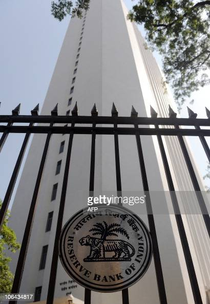 The Reserve Bank of India head office is pictured in Mumbai on November 2 2010 India's central bank on November 2 raised benchmark interest rates by...