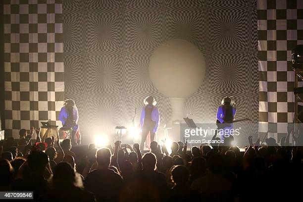 The Residents performs onstage at the SXSW Presents showcase during the 2015 SXSW Music Film Interactive Festival at The Paramount Theater on March...